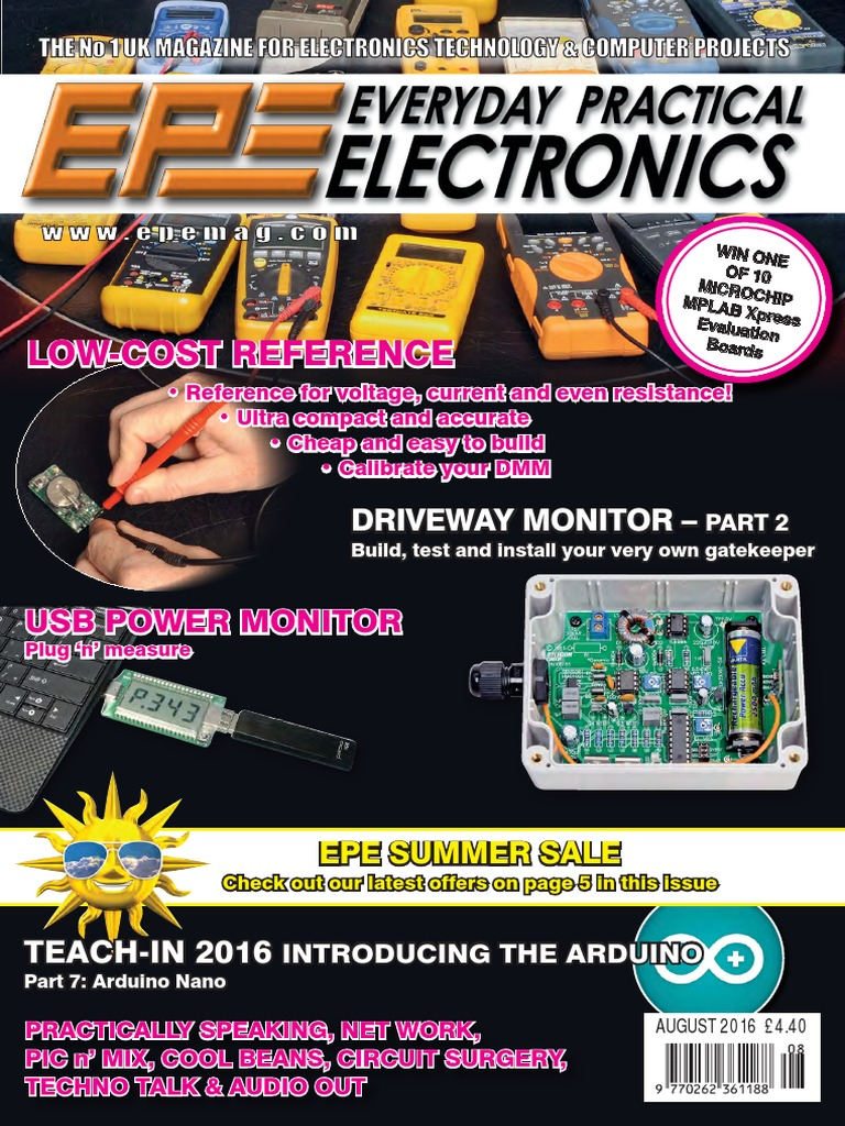 Everyday Practical Electronics August 2016 Pic Microcontroller Dtmf Decoder Circuit Youtube