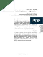 Merleau-Ponty - Movimentos Do Corpo e Do Pensamento