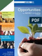 AIESEC in Austria National Partnership Portfolio