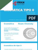 Gramática Tipo 0