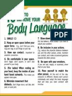 Imporve Your Body Language