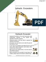 4. Hydraulic Excavator