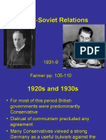 Britain and Ussr 1931-9 2011