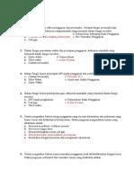 Soal Auditing Bab 20 Dan 21