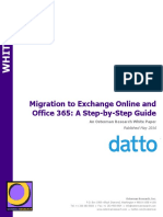 Migration to Exchange Online and Office 365 - A Step-By-Step Guide