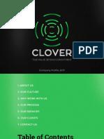 Cloverads Credentials 2017