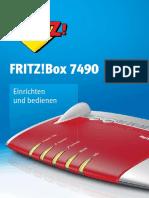 Handbuch Fritz!Box 7490