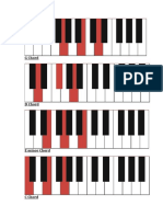 year 9s piano chord help sheet