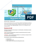 CBSE Class 8 Structure of a Cell.pdf