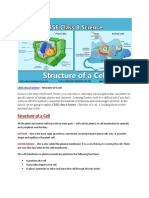 CBSE Class 8 Structure of a Cell