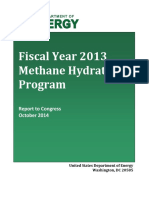 2013 Annual Report - FINAL methane hydrates
