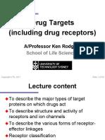 PCOL 1 Drug Receptors 2017