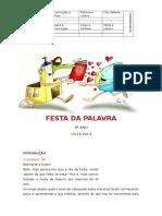 Guião Festa da Palavra - 15 Novembro 2014 versão final