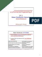 [5 1]WaterDistributionNetworks GeneralBackground
