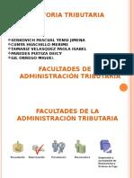Facultad de La Administracion Tributaria