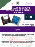 Penyeliaan Fasilitatif Klinis & Rujukan