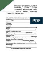Nuevas Amenazas Del Comando Sur