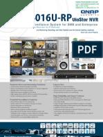 NVR QNAP VS4016URP