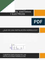 Instalaciones Hidráulicas, Sanitarias y Electricas_1-1