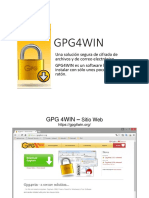 Instalacion de GPG for Win