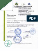 Carta Intergremial enviada Al Presidente de la República