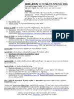 Checklist Doc Spring 2016 0