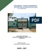 Plan de Contingencia Estadio Casa Grande 2017
