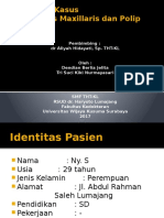 Responsi Sinusitis Maxillaris Dan Polip Nasi