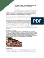 Investigación Biográfica de Los Aspectos Concerniente a La Relación Del Conocimiento Subdesarrollo Su Evaluación Para El Desarrollo