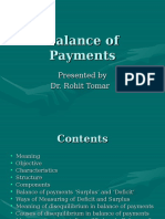 Balance of Payments Module V
