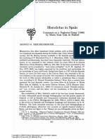 Herodotus in Spain