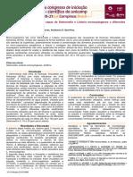 Avaliação Da Resistência Das Cepas de Salmonella e Listeria Monocytogenes a Diferentes