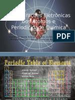 Configurações Eletrônicas Dos Átomos e Periodicidade Química