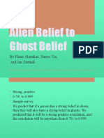 alien belief to ghost belief