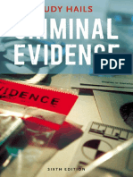 Criminal Evidence- 6th Edition