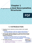 135495_Chap 1_ Crystalline & Noncrystalline Structure