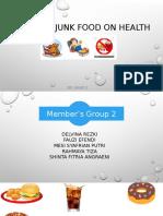 Hazard Junk Food on Health