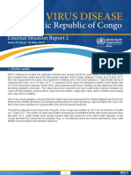 External Situation Report 2 on Ebola DRC May 16 2017