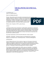 Requisitos Da Petição Inicial No Novo Cpc