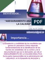 aseguramientoanaliticodelacalidad-131028105222-phpapp01