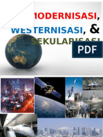 Modernisasi Westernisasi Dan Sekularisasi