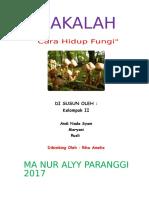 Makalah Cara Hidup Fungi (jamur)