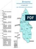 La zone d'intervention de l'association Transport Solidaire en Armagnac Landais