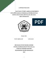 Penggeseran Tiang Tumpu Jaringan Distribusi Guna Pengamanan Pekerjaan Pembangunan Hotel Jelita Pada Penyulang Spl 10 Di Area Semarang - Yusuf Abdulloh - 3.39.12.0.25
