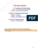chapter 7 the origin of the solar system