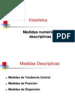 2_Medidas Tendencia Central y Posición