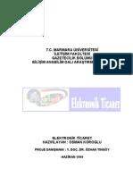 E-ticaret Araştırma Projesi (BA)