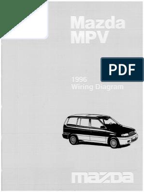 1996-Mazda-MPV.pdf | Bipolar Junction Transistor | Electrical ConnectorScribd