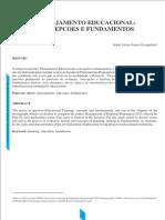 1 - Planejamento Educacional - Concepcoes