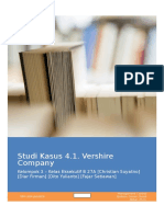 Studi Kasus 4.1. Vershire Company